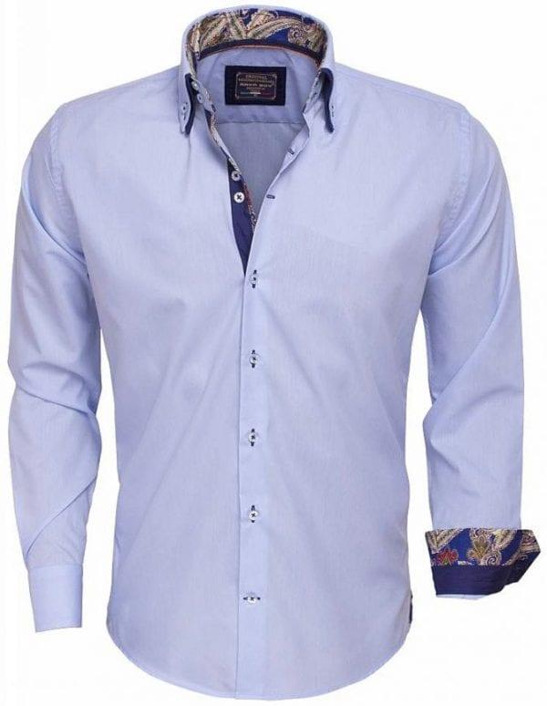 Arya Boy Italiaans overhemd 85254 light blue