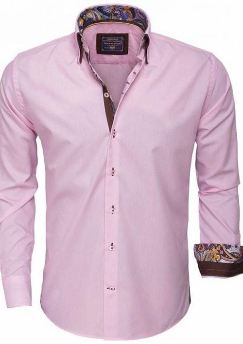 Arya Boy Italiaans overhemd 85254 pink