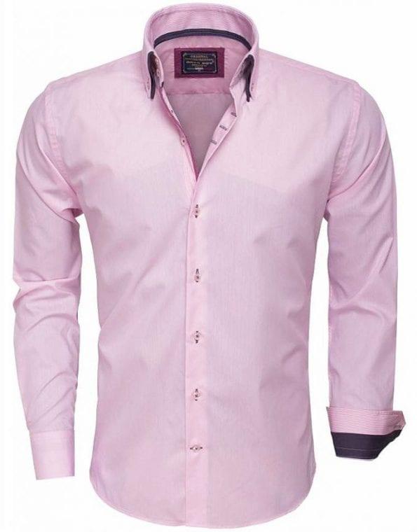 Arya Boy Italiaans overhemd 85257 pink