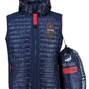 Geographical Norway Heren Bodywarmer Vainqueur Donkerblauw Bendelli 15