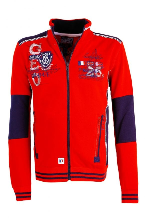 Geographical Norway Heren Vesten Galbord Rood 7 Large