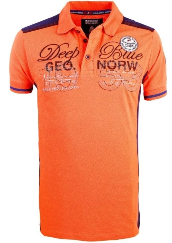 Geographical Norway Heren Poloshirts Kaxidor Bendelli Koraal 2 Large