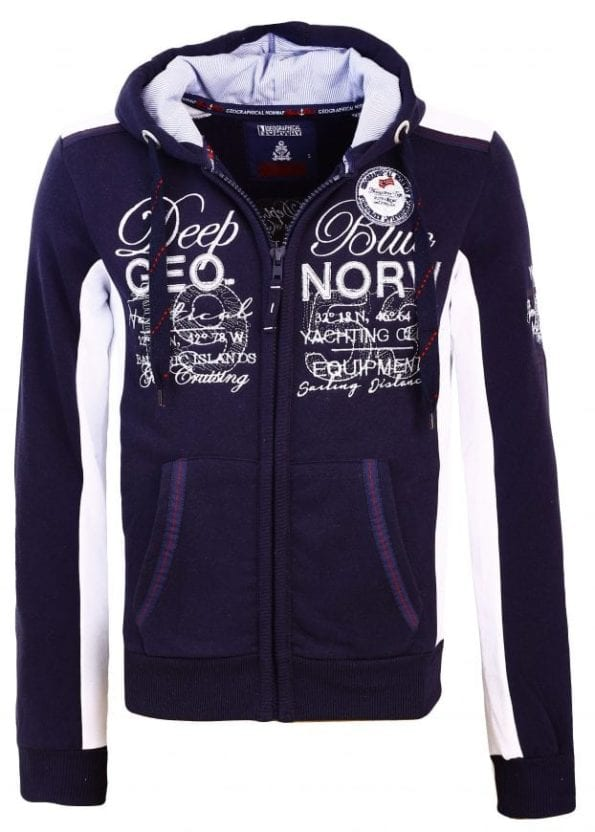 Geographical Norway Heren Sweater Fahrenheit Blauw 1