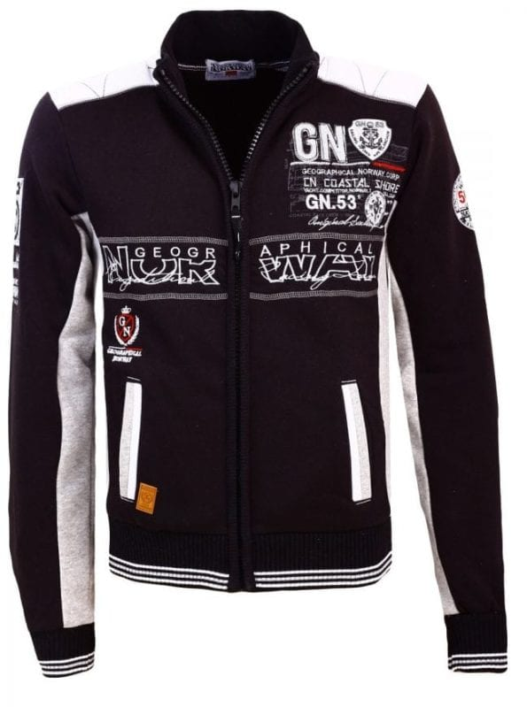 Geographical Norway Heren Sweater Fanker Zwart 22 Large