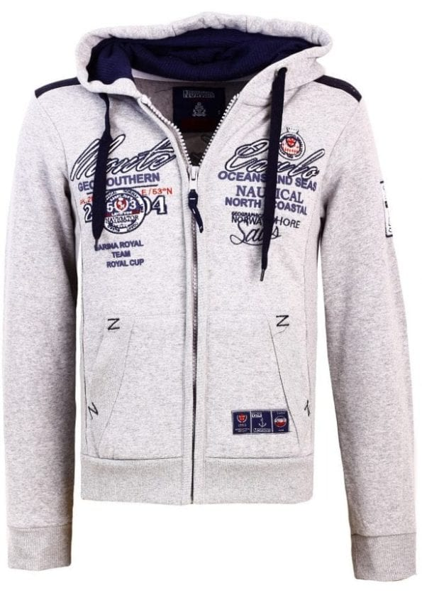 Geographical Norway Heren Sweater Goda  Grijs17 Large