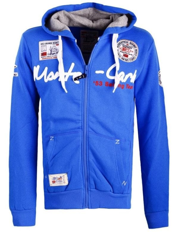 Geographical Norway Heren Vest Capuchon  Golden Men Kobalt 1 Large