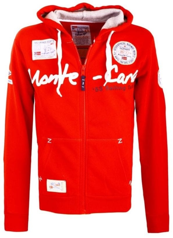 Geographical Norway Heren Vest Capuchon  Golden Men Rood 1 Large