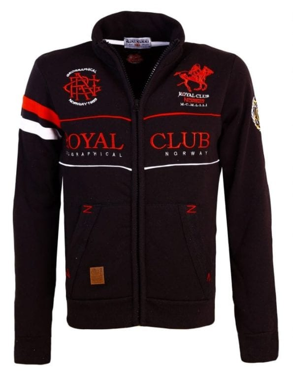Geographical Norway Sweater Fapitol Zwart 1 Large