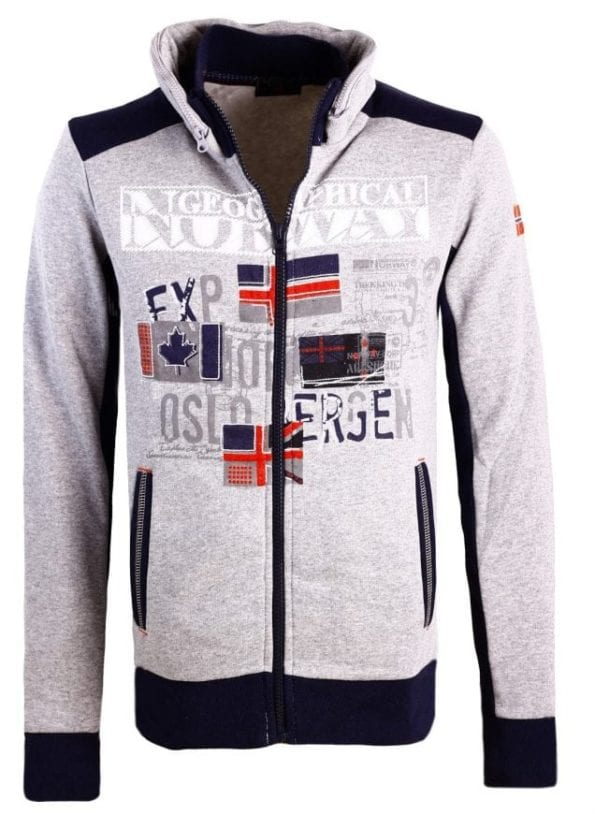 Geographical Norway Sweater Femporio Bendell Grijs 6 Large