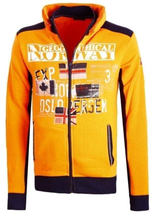 Geographical Norway Sweater Femporio Bendell Oranje 8 Large