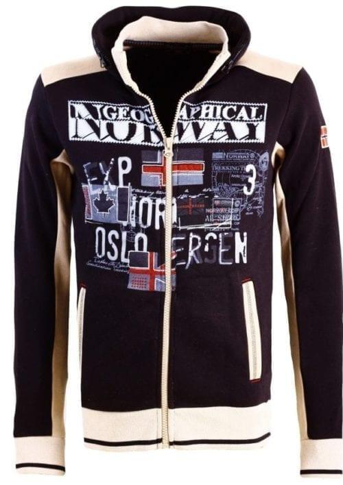 Geographical Norway Sweater Femporio Bendell Zwart 7 Large