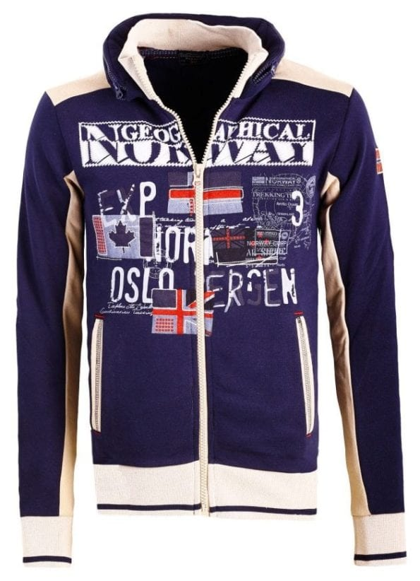 Geographical Norway Sweater Femporio Bendelli Blauw 6 Large
