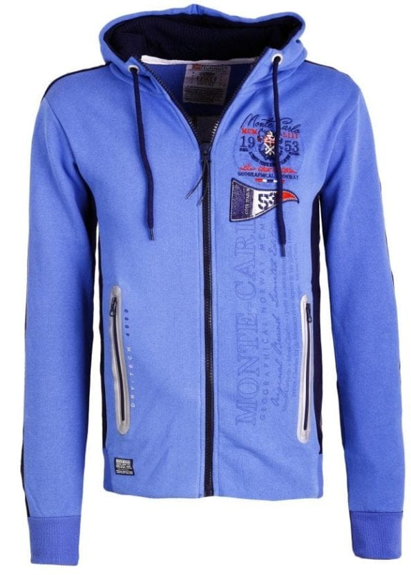 Geographical Norway Vesten Sweater Golfinger Blauw 4 Large