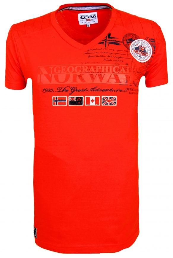 Geographical Norway t shirts Heren Jofteam 11