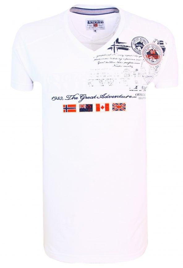 Geographical Norway t shirts Heren Jofteam 7