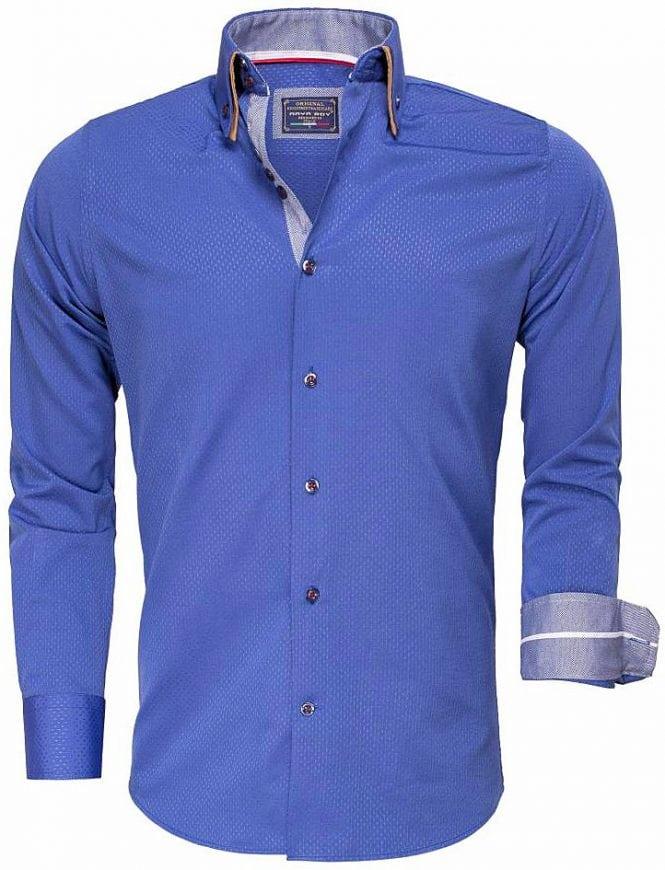 Arya Boy Overhemd.Arya Boy Italiaans Overhemd Gewerkt Lichtblauw 85262 Bendelli