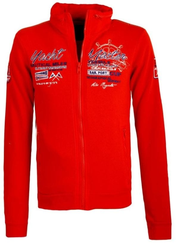 Heren Vesten Geographical Norway Gentury Rood Bendelli 18 Large