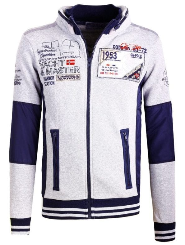 Heren Vesten Geographical Norway Fairbanks Grijs Bendelli 63