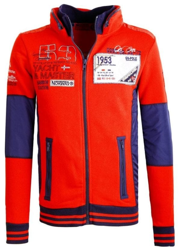 Heren Vesten Geographical Norway Fairbanks Rood Bendelli 41 Large