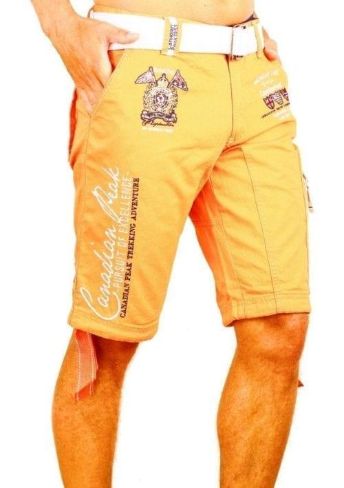 Korte broek heren Canadian Peak Goedkoop Oranje Bendelli 13 Large