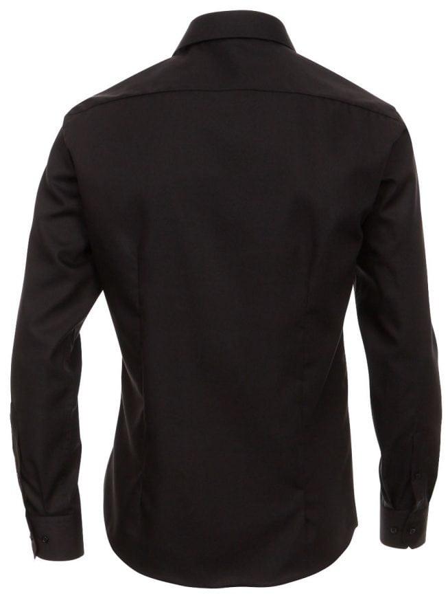 Overhemd Zwart Slim Fit.Venti Heren Overhemd Zwart Strijkvrij Slim Fit Poplin 1480 Bendelli