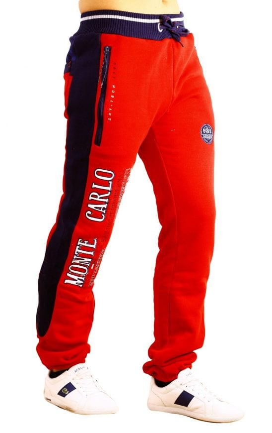 Vrijetijdsbroek Joggingbroek Geographical Norway Monte Carlo Rood 2 Large