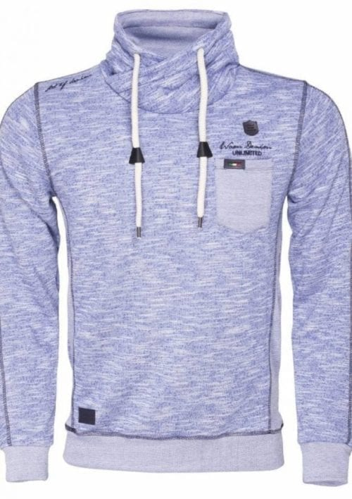 Wam Denim sweater royal blauw 76097