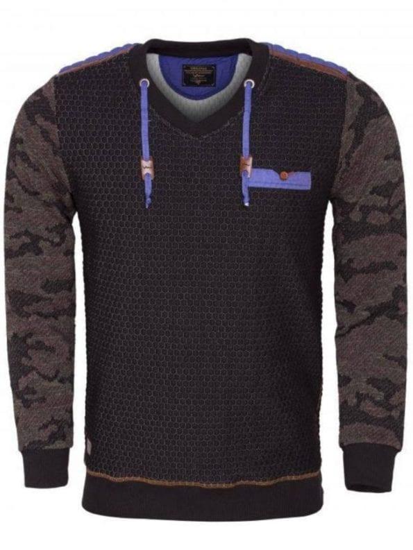 Wam Denim trui zwart 76135