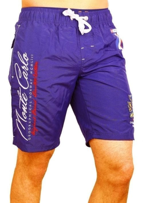 Zwembroek Geographical Norway Zwemshorts Monte Carlo Blauw model 1 Large