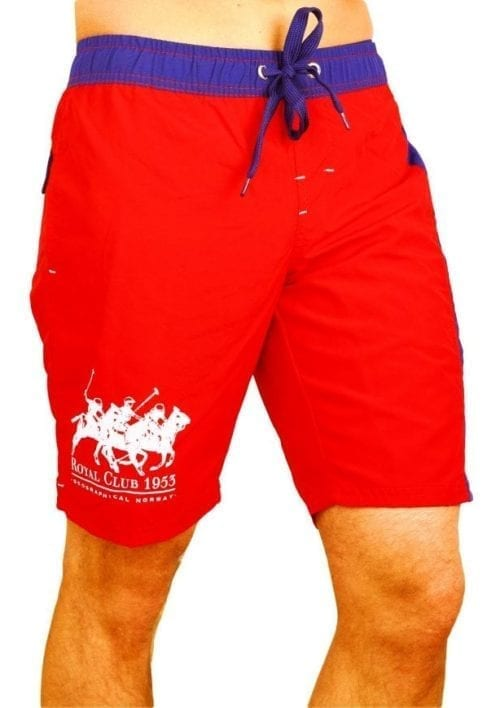Zwembroek Geographical Norway Zwemshorts Ropyal Polo Rood Model 1 Large