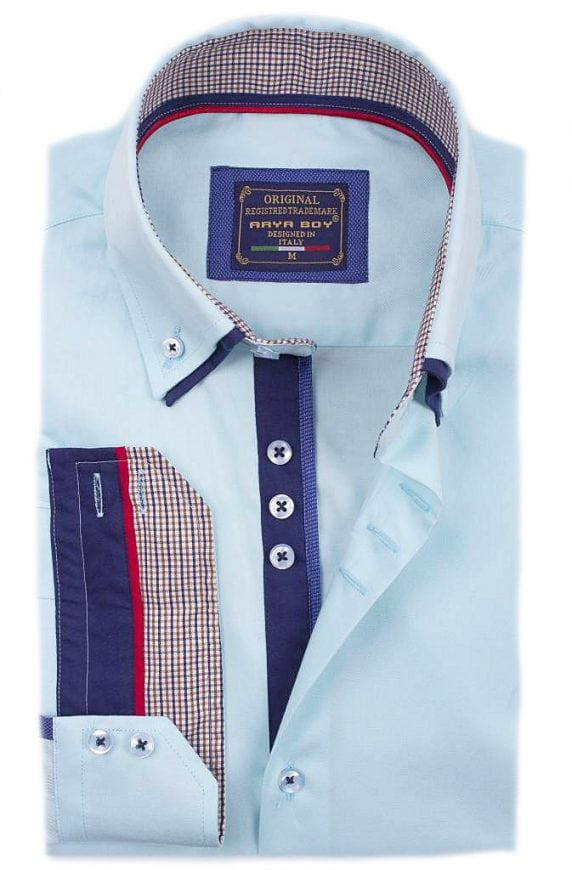 Arya Boy Overhemd.Arya Boy Italiaans Overhemd Groen 85253 Bendelli