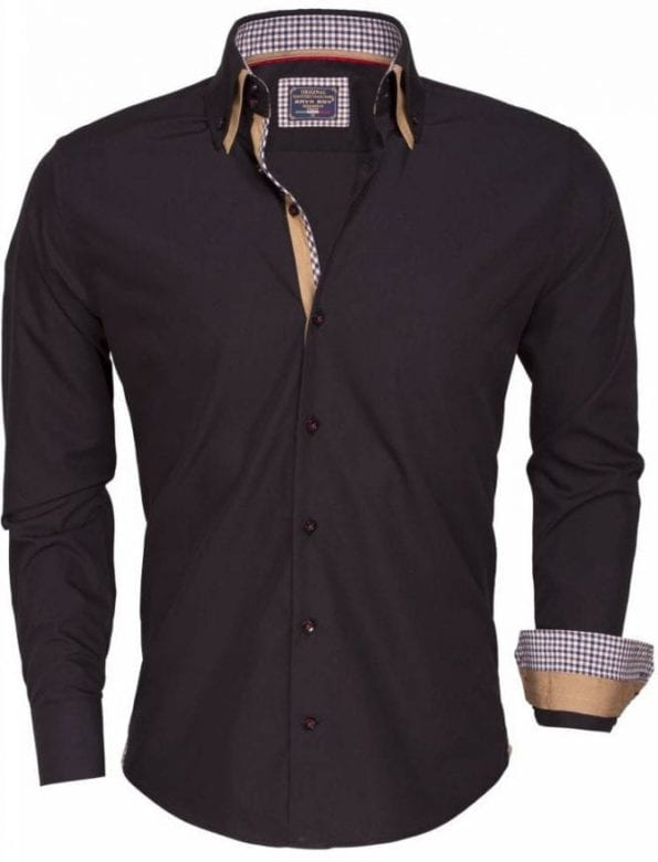 shirt longsleeve 85240 black