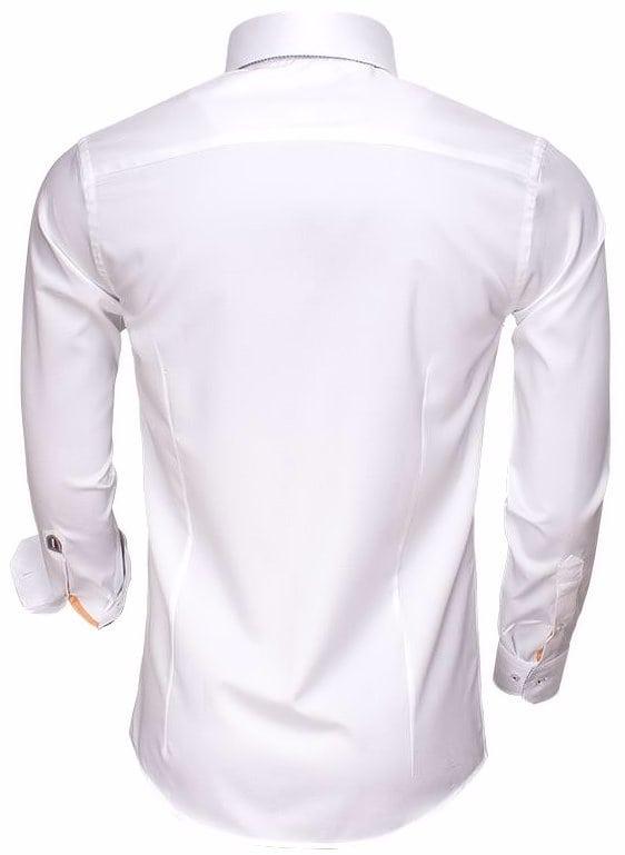 Italiaans Overhemd Heren.Wam Denim Italiaans Overhemd Dubbele Boord Wit 75498 Bendelli