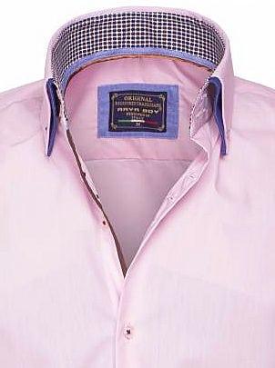 Arya Boy Overhemd.Arya Boy Italiaans Overhemd Roze 85260 Bendelli