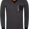Gaznawi sweater Arvada 66015 black grey