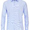 Venti overhemden heren strijkvrij edition modern fit gewerkt poplin blauw 193158000 100 1