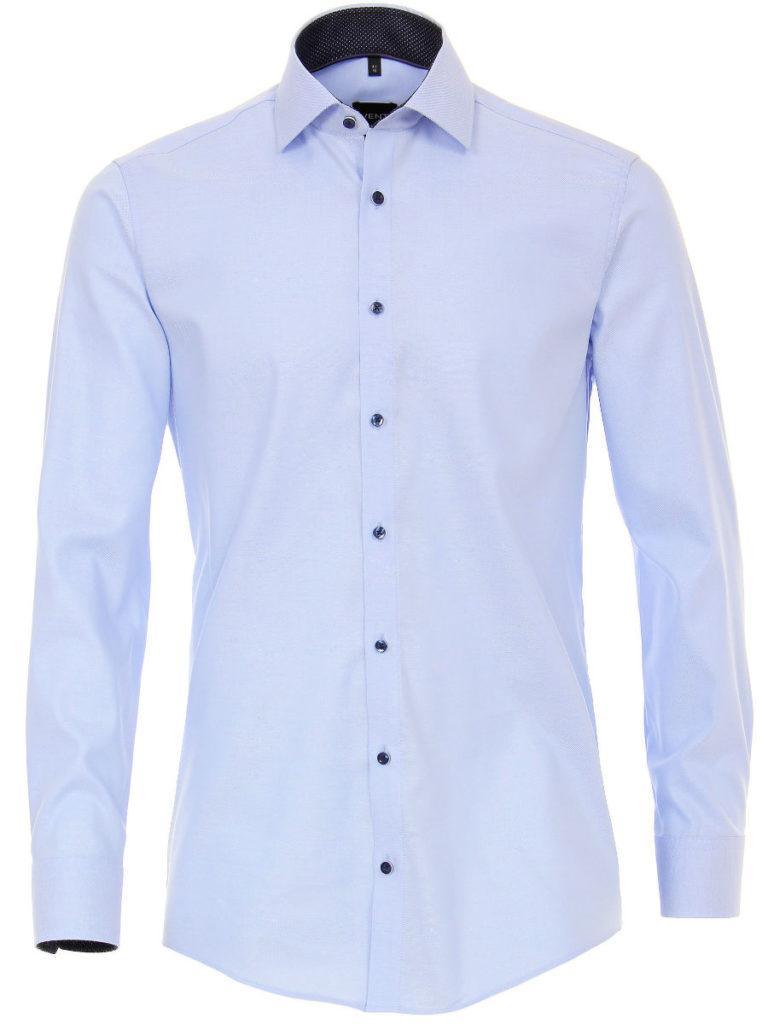 Venti overhemden heren strijkvrij edition modern fit ocford blauw 183055300 100 1