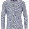Venti overhemden heren strijkvrij edition modern fit oxford blauw 183055300 101 3 2 1