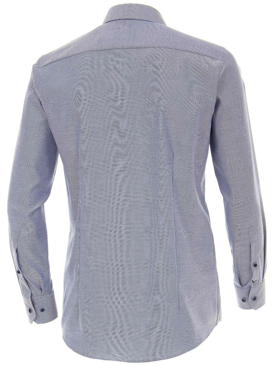 Maat 38 Overhemd.Venti Heren Overhemd Donkerblauw Strijkvrij Modern Fit Oxford