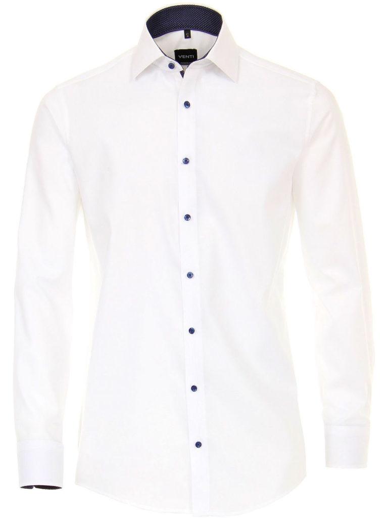 Venti overhemden wit heren modern fit 183055300 000 1