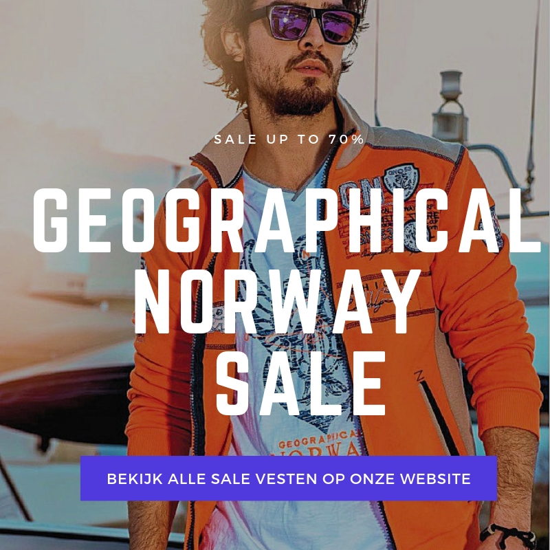 Geographical Norway sale vesten heren