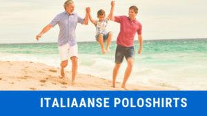 Italiaanse poloshirts slim fit online kopen banner