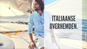 italiaanse overhemden slim fit blouses