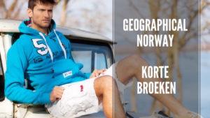 Geographical Norway Korte broeken