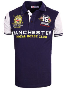 Geographical Norway Polo Shirt Blauw Kingston Manchester Buckingham Great Britain (2)