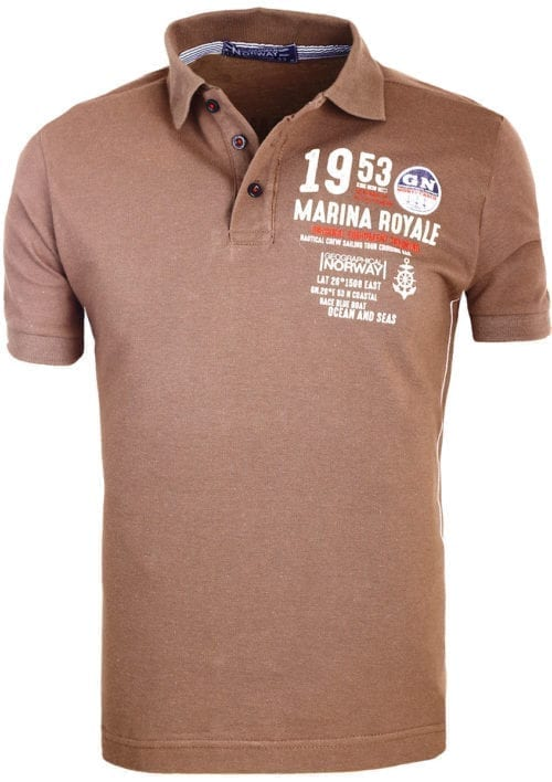 Geographical Norway Polo Shirt Khaki Kadre Marina Royale Monte Carlo (2)