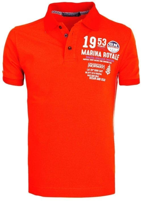 Geographical Norway Polo Shirt Rood Kadre Marina Royale Monte Carlo (2)