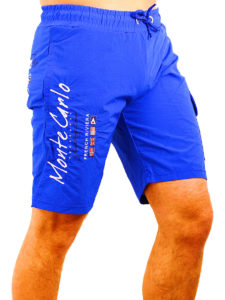 Geographical Norway zwembroek lichtblauw quaractere swimshort Bendelli (3)