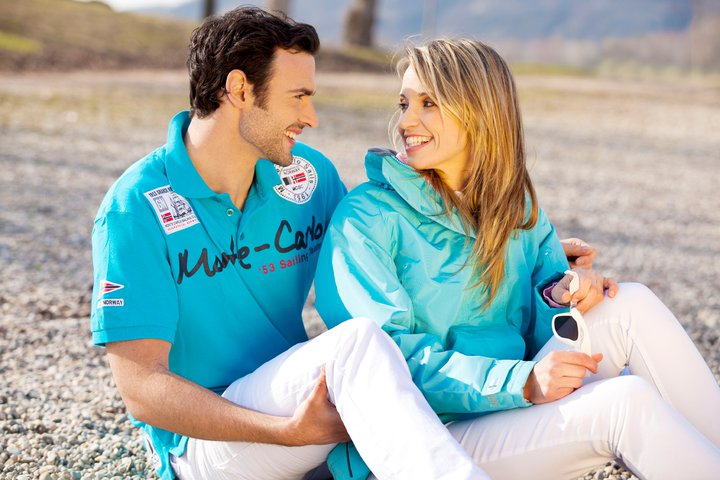 Monte Carlo Poloshirts herenkleding Sailing team