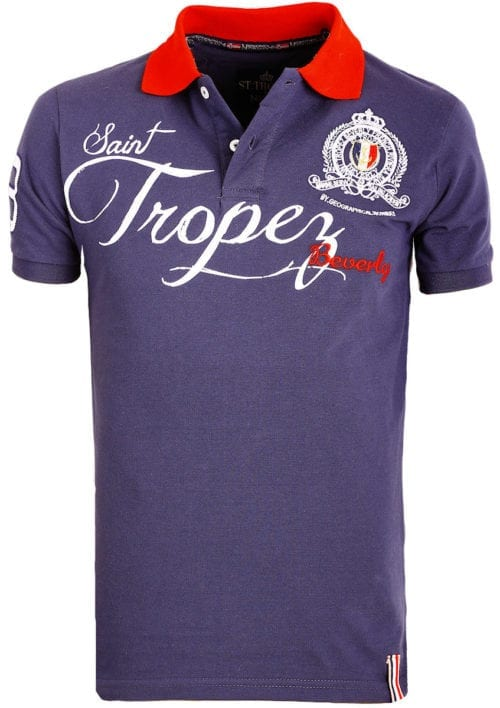 Geographical Norway polo shirt blauw Saint Tropez kleding Beverly Kallian (2)